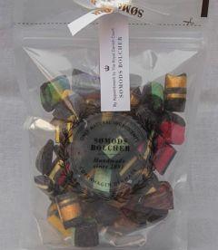 Premixed bag of liquorice candies 250 grams