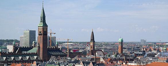 Köpenhamn från ovan