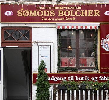 Entrance Sømods Bolcher